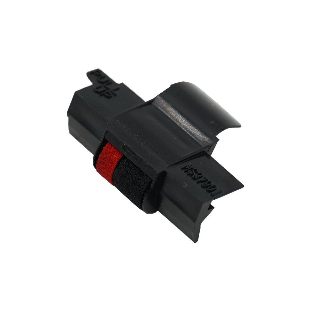 nero Printerfield 6 Pack Ink Roller Rullo dellinchiostro per IR-40 calcolatrice Stampante