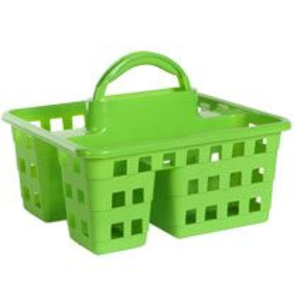 Amazon.com: New Spring and Summer Color Shower Caddy- Lime Green ...
