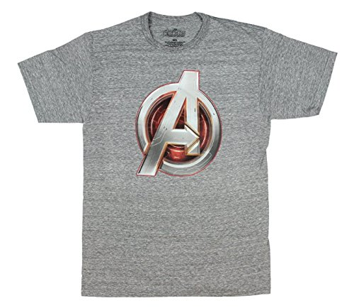 Marvel Comics Avengers Age of Ultron Logo Licensed Graphic T-Shirt