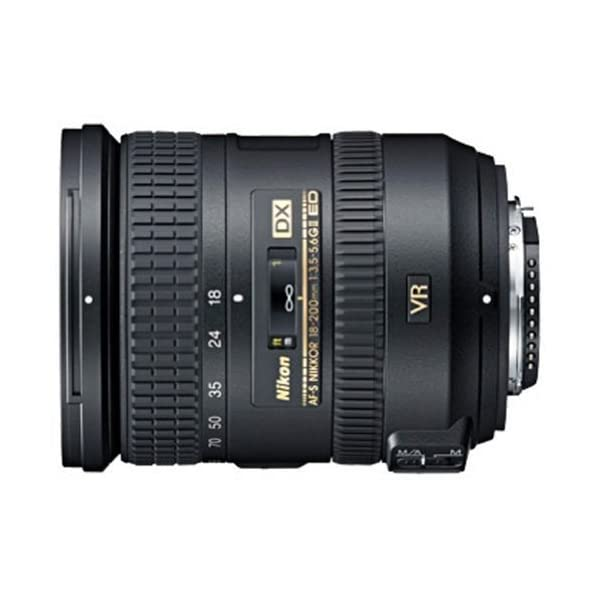 RetinaPix Nikon 18-200mm F/3.5-5.6G IF-ED AF-S VR II DX Telephoto Zoom Lens for Nikon DSLR Camera