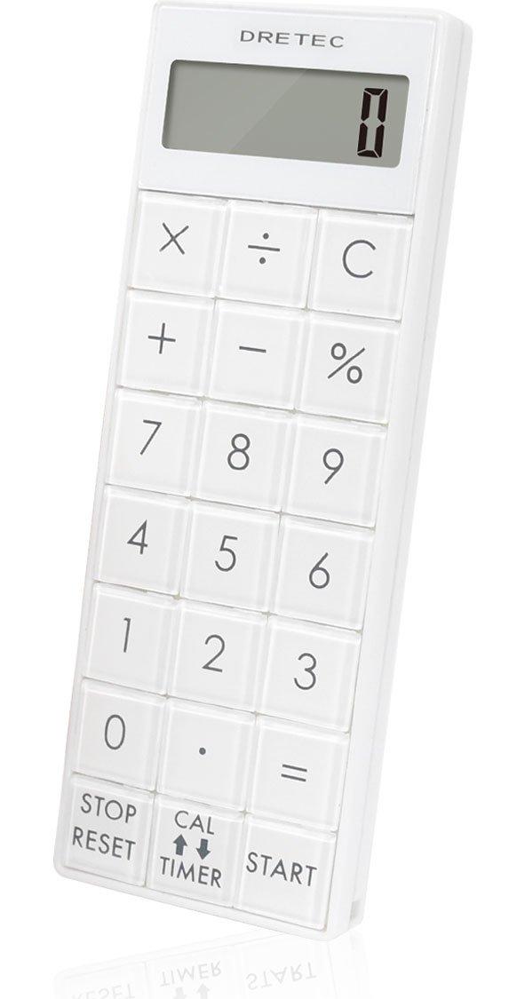 dretec CL-116 電卓付長時間タイマー