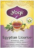Yogi Tea Organic Egyptian Licorice Tea, 16 Bags, 1.27 oz Review