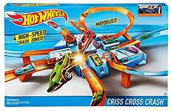 Hot Wheels Criss Cross Crash Track Set 4