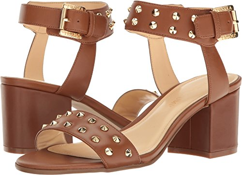 (Ivanka Trump Women's Elonna3 Heeled Sandal, Cognac, 6.5 Medium US)