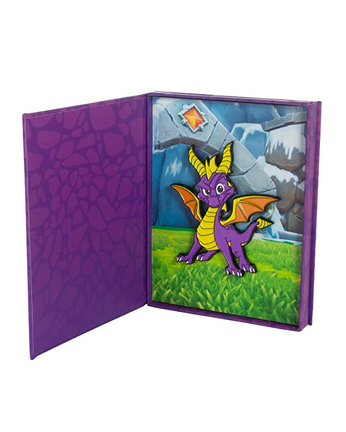 Amazon.com: Official Spyro the Dragon Collectible Pin in ...