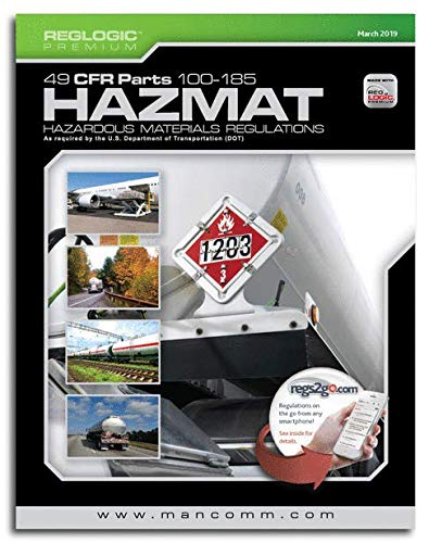 - HAZMAT 49 CFR PARTS 100-185 MARCH 2019 EDITION