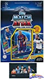 2016/2017 Topps Match Attax Champions League Soccer Starter Box with 39 Cards Including EXCLUSIVE GOLD Limited Edition Lionel Messi & 2 Goalkeeper Cards! PLUS Game Mat & Rules with BONUS Messi Pack! фото