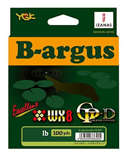 よつあみ(YGK) ライン ナスリー B-argus(バルゴス) excellent PE WX8 100yds シナモングリーン 100LB(7号)の商品画像