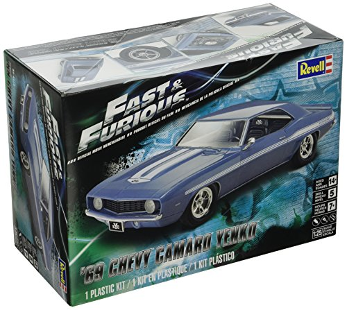 Revell Fast & Furious 69 Chevy Yenko Camaro Model Kit (1969 Camaro Model Car Kit)