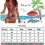 DURINM-Donna-Costume-da-Bagno-Intero-Elegante-Striscia-Multiway-Imbottito-Push-Up-Bikini-Un-Pezzo-Sexy-Tankini-Swimwear-Costumi-da-Mare-da-Donna-Beachwear