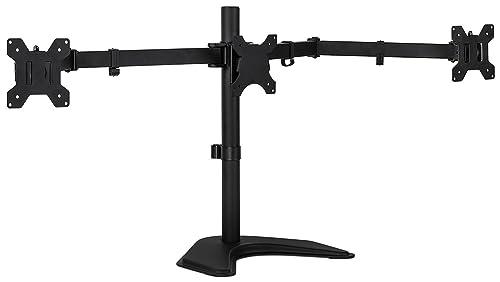 Mount-It! Triple Monitor Stand -VESA Compatible