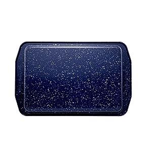 Paula Deen Speckle Bakeware 9-Inch x 13-Inch, Deep Sea Blue Speckle