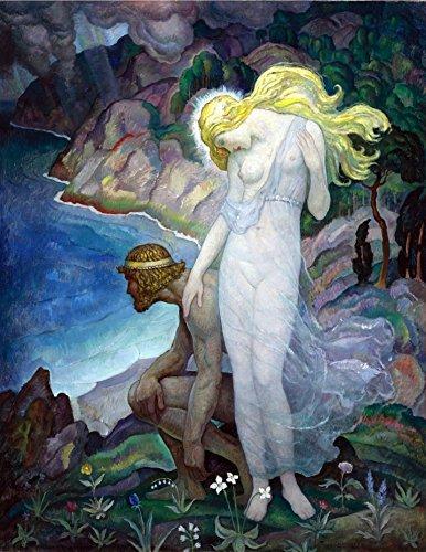 Odysseus And Calypso N C Wyeth Circa 1929 Greek Mythology