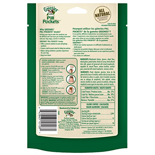 GREENIES-PILL-POCKETS-Soft-Dog-Treats-Peanut-Butter-Capsule-79-oz-Pack-of-6
