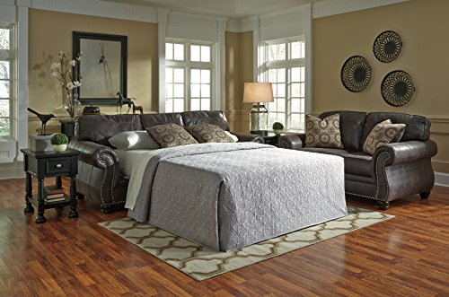 Breville Brown Traditional Classics Fabric Queen Sofa Sleeper