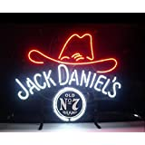 JACK DANIEL'S Real Glass Tubes For Display Neon Sign19x15