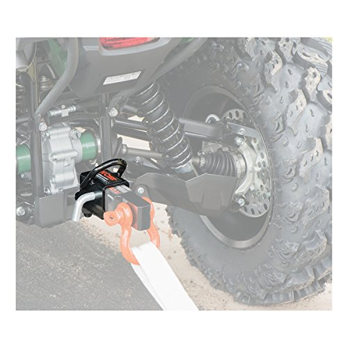CURT 45006  Bolt-On 2-Inch ATV Trailer Hitch Receiver Adapter