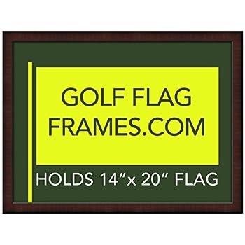 Amazon.com - 17x23 Brown Golf Flag Frame, Moulding brn-010, Green ...