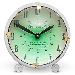 Pendulux, Table Clock, 8 H x 8 W x 5 D, 5.75 lbs - Orbit