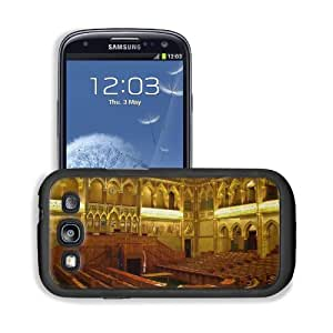 Architecture Gold Hungary Interior View Samsung I9300 Galaxy S3 Snap Cover Premium Leather Design Back Plate Case Customized Made to Order Support Ready 5 3/8 inch (136mm) x 2 7/8 inch (73mm) x 7/16 inch (11mm) MSD Galaxy_S3 Professional Cases Touch Acces