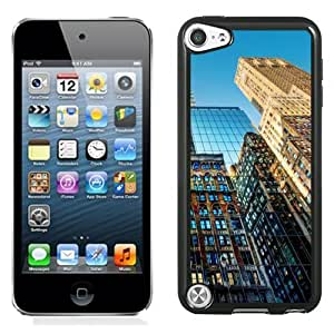 NEW Unique Custom Designed iPod Touch 5 Phone Case With New York Skyscrapers Glenmore_Black Phone Case