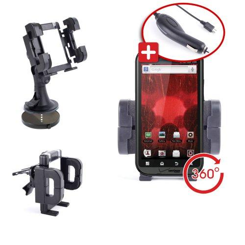 DURAGADGET Holder Cradle Motorola Bionic product image