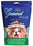chicken apple dog treats - Loving Pets All Natural Premium Apple and Chicken Wraps with Glucosamine and Chondroitin Dog Treats, 6 oz