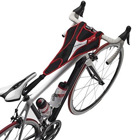 Fissaggio tra Sedile e Manubrio Elite Taglia Unica Rosso Rot//SCHWAR Protezione antisudore per Bici