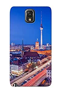 LZR409qNNbD Faddish City Berlin Case Cover For Galaxy Note 3 With Design For Christmas Day's Gift