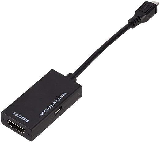 Micro USB Macho a HDMI Hembra Cable Adaptador para Android ...