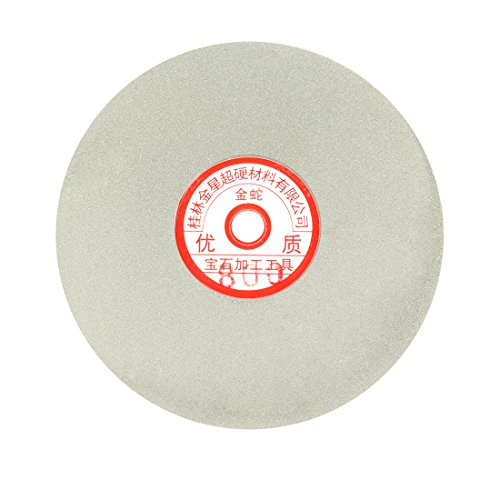 uxcell 6-inch Grit 800 Diamond Coated Flat Lap Wheel Grinding Sanding Polishing Disc by uxcell