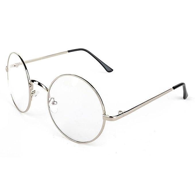 05844dca64 Demiawaking Unisex Rotonda Montatura Occhiali da Vista Cosplay Harry Potter  Retro Occhiali di Moda