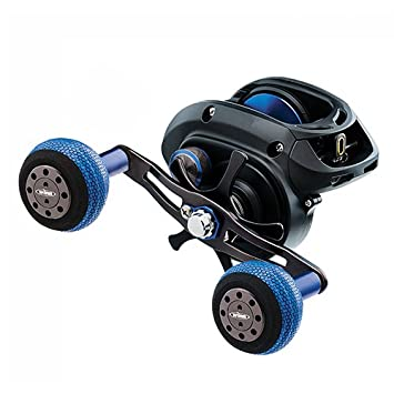 Daiwa LEXA-WN400H Lexa Type WN Casting Reel, 400, 6.3 1 Gear Ratio, 33.40 Retrieve Rate, 25 lb Max Drag, Right Hand