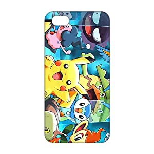 Ultra Thin Lovely Pokemon happy Pikachu 3D Phone Case for iPhone 5s
