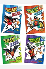 Kung Pow Chicken Set of 4 Paperback Books Paperback
