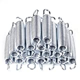 8.5'' Trampoline Spring Replacement Heavy-Duty Galvanized 20Pcs