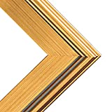 Creative Mark Plein Air Wooden Picture Frame -Single Open Frame - Size 11x14'' - Gold