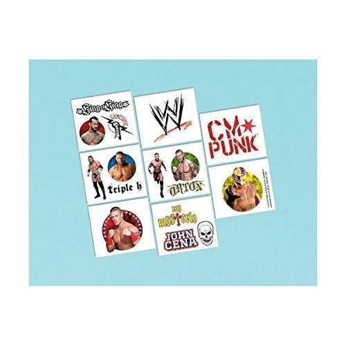 WWE Wrestling Tattoos 16ct [Toy] -
