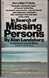 Mass Market Paperback In Search of Missing Persons Book