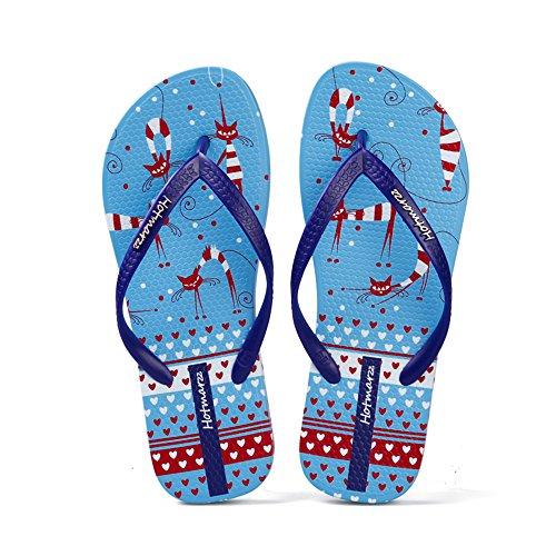 spiaggia esterne Pantofole 2 Comodi da estive sandali antiscivolo Calzature Pantofole w1T8qBx