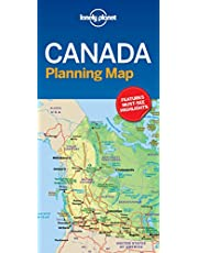 Lonely Planet Canada Planning Map 1 1st Ed.