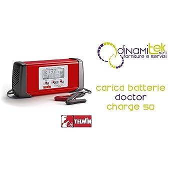 TELWIN 807598 Telwin Model Doctor Charge 50 Cargador de Baterías ...
