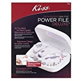 Kiss Rechargeable Power Nail File - 3PC