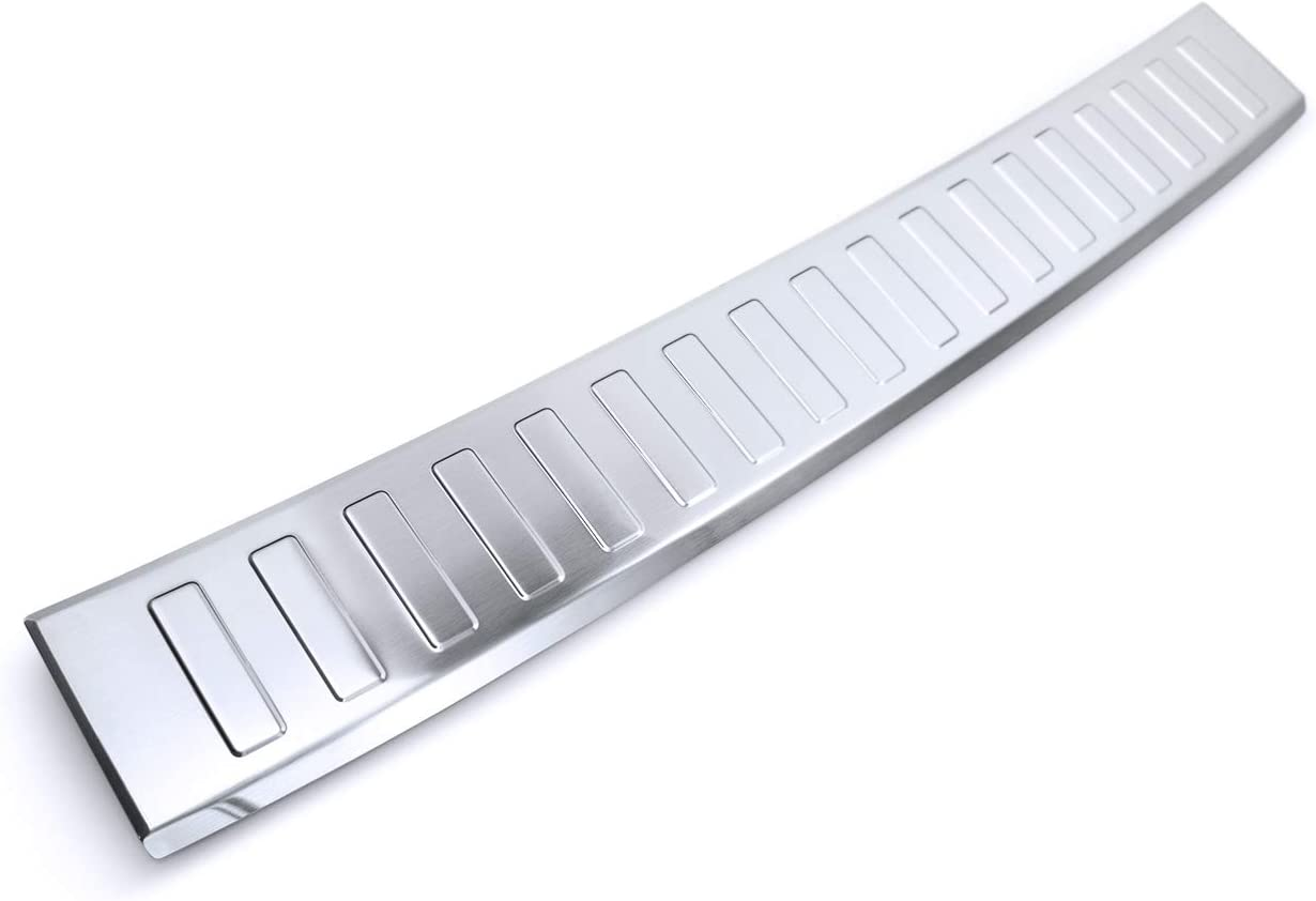 tuning-art BL957 Stainless steel bumper with 3D profile and edge Color:Silver