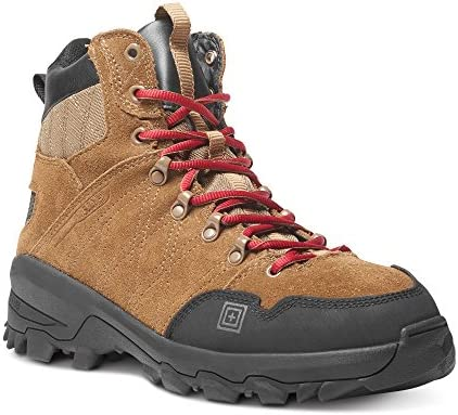 5.11 Men's Cable Hiker Carbon-Tac Safety Toe Boots Military and Tactical, Dark Coyote 9 Wide US