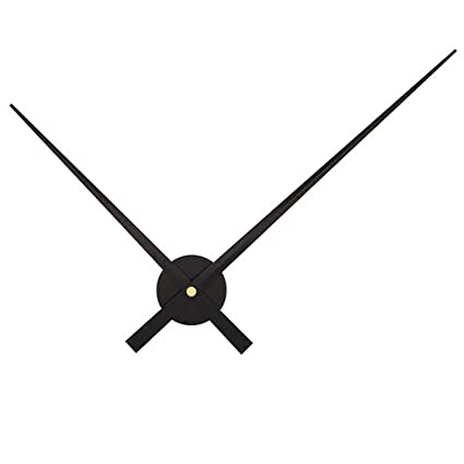 Amazoncom Hot Sale Diy Large Clock Hands Needles Wall Clocks 3d
