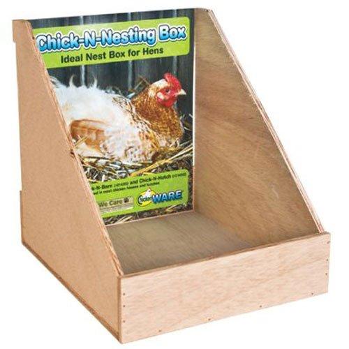 Hen Box (Ware Manufacturing Chick-N-Nesting Chicken Nesting Box)