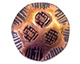 1000Pcs C.S. Osborne No. 7003- OCRL 1/2 - Oxford Old Copper Lacquered Rolled Head Diameter is Approximately 7/16'' Length 1/2''