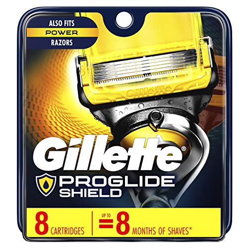 Gillette ProGlide Shield Men's Razor Blades, 8 Blade Refills