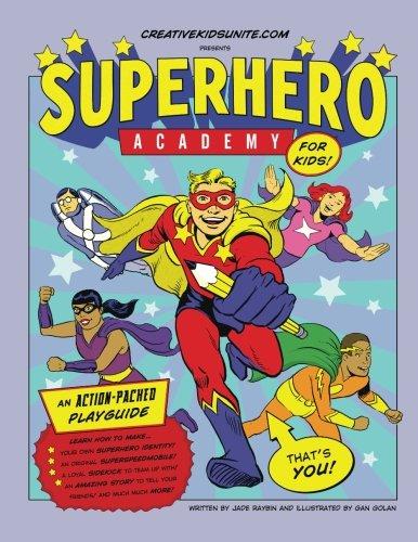 Superhero Academy: Create Your Own Superhero Character Activity Book!